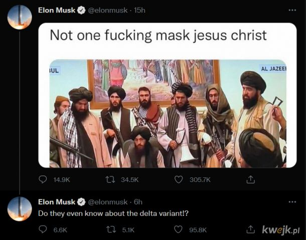 Not one fu**** mask