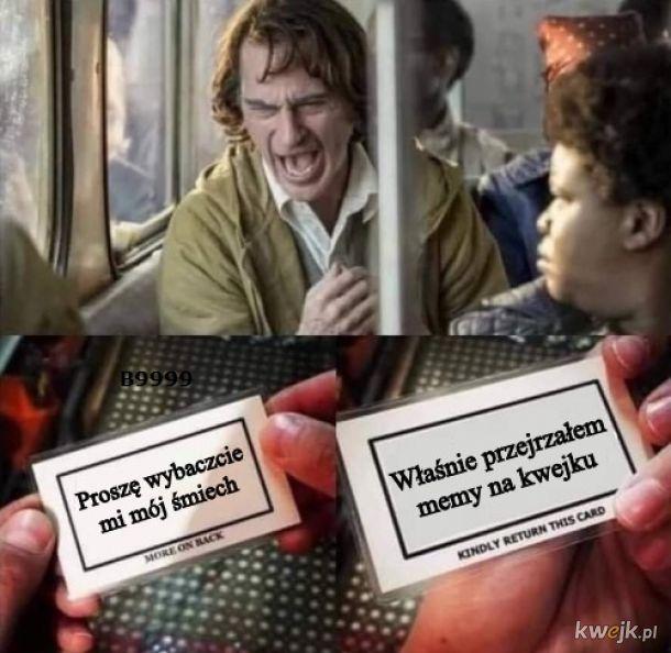Trudno orzec jaki to śmiech..