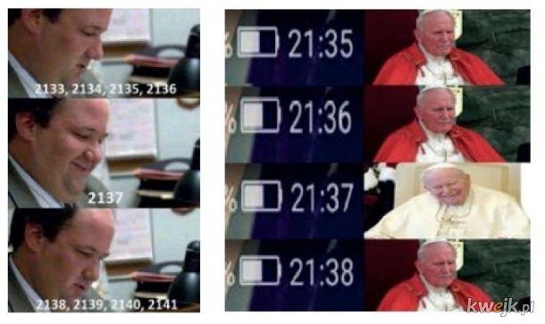 Toć to papieżowa liczba!