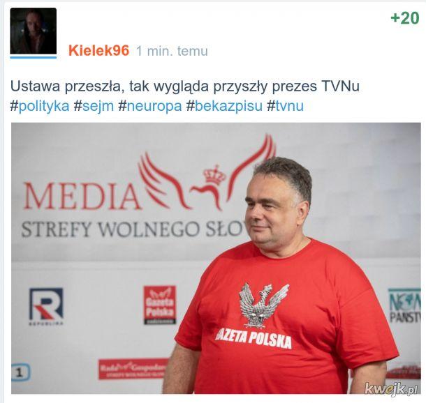 Przyszły prezes TVNu