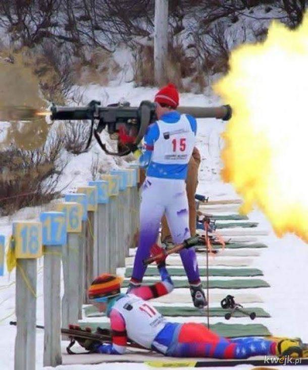 Taka olimpiada. Nie wiem nie ogarniam.