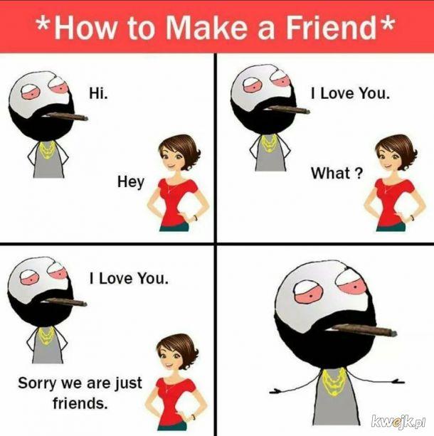 Jak zdobyć koleżankę