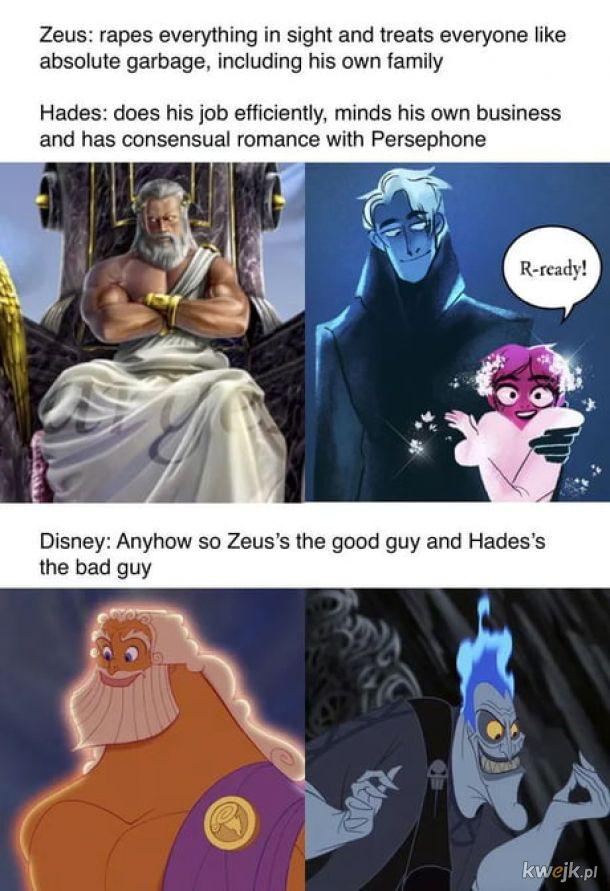 Mitologia to ciekawa rzecz.