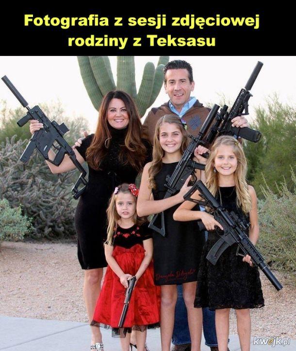 Typowa rodzinka z Teksasu