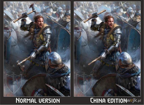 Jak w Chinach ocenzurowano karty do gry w Gwinta - Wiedźmińską grę karcianą, obrazek 8