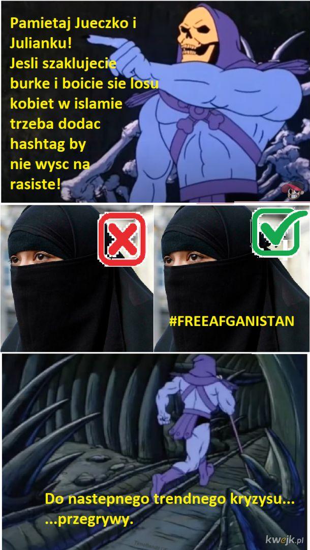 FreeAfganistan vs Islamofobia