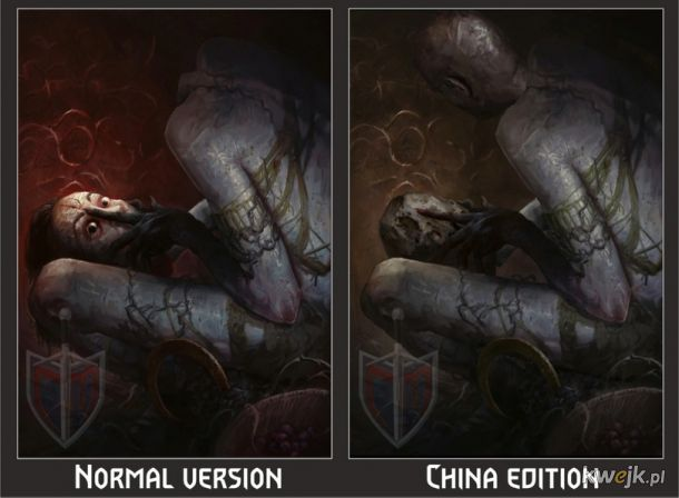 Jak w Chinach ocenzurowano karty do gry w Gwinta - Wiedźmińską grę karcianą, obrazek 18