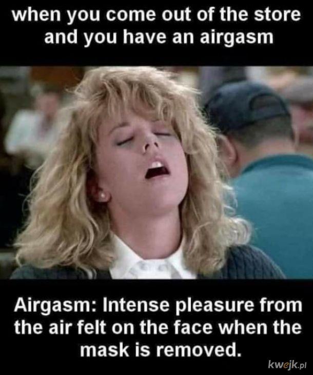 Orgazm powietrzny