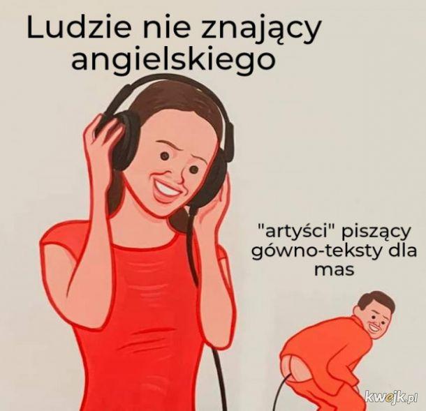Angielskie teksty piosenek