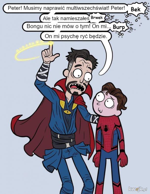 Spiderman, bez drogi do domu
