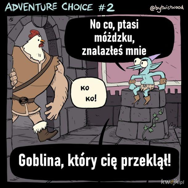 Kto lubi grać w RPGi? Oto przygoda postaci pod złym czarem