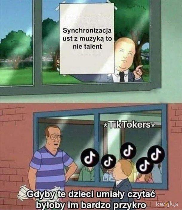 To nie talent