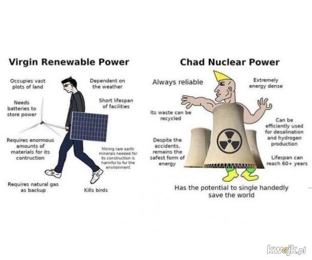 Atom jedyną drogą