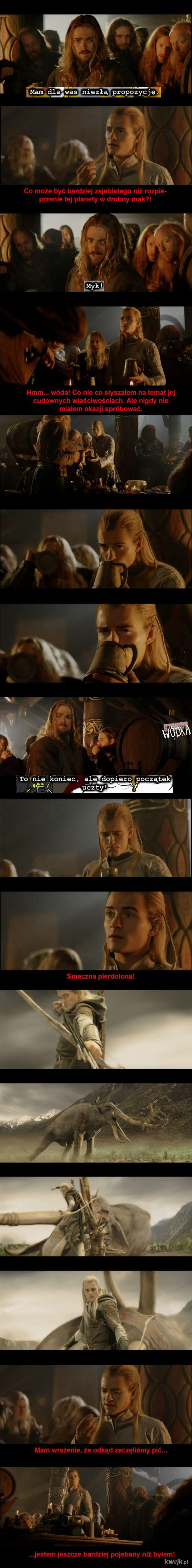 Bengolas, Ty je*any elfie!