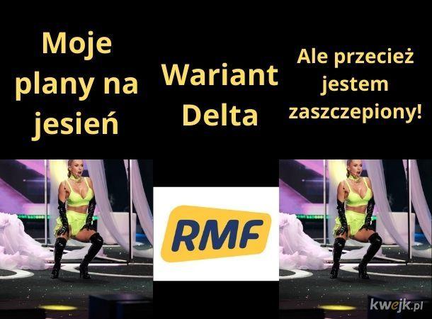 RMF FM nie chce puszczać piosenki Dody, a ona i tak wygrała u nich Przebój Lata