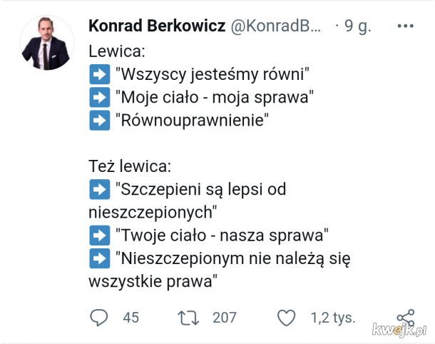 Schizofrenia czy populizm Lewicy?