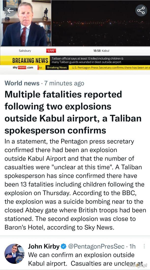"""Taksowkarz do taliba: """"Gdzie pana wysadzic?"""" -""""Na lotnisku!"""""""
