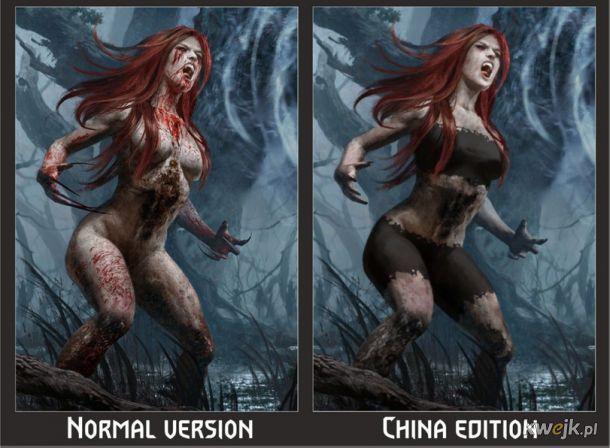 Jak w Chinach ocenzurowano karty do gry w Gwinta - Wiedźmińską grę karcianą, obrazek 4