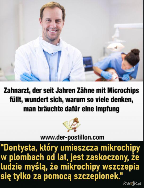 Mikrochipy w plombach