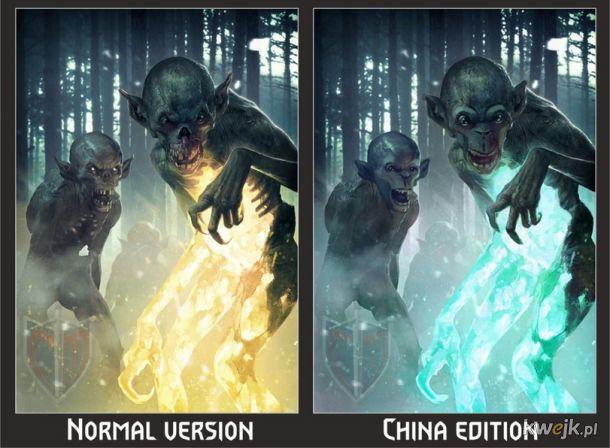Jak w Chinach ocenzurowano karty do gry w Gwinta - Wiedźmińską grę karcianą, obrazek 13
