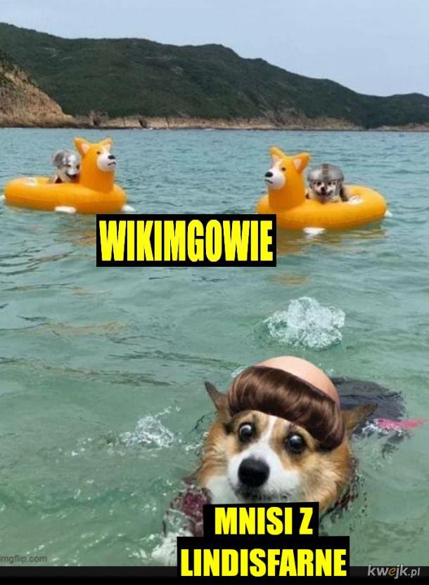 Prawdziwi wikingowie nie mieli rogów na hełmach ale pływali takimi statkami