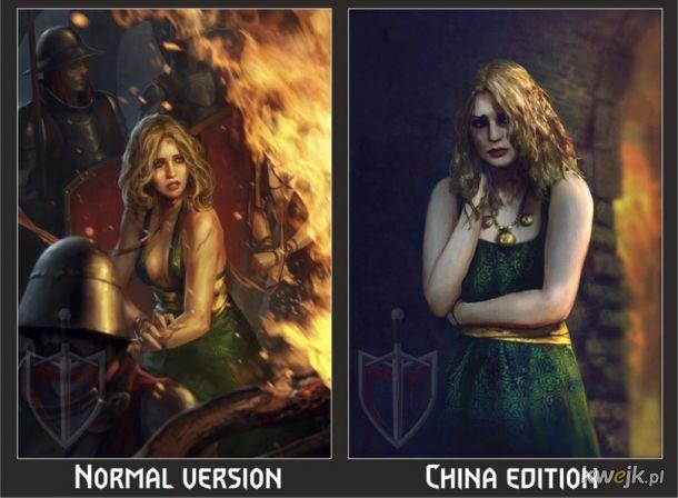 Jak w Chinach ocenzurowano karty do gry w Gwinta - Wiedźmińską grę karcianą, obrazek 2