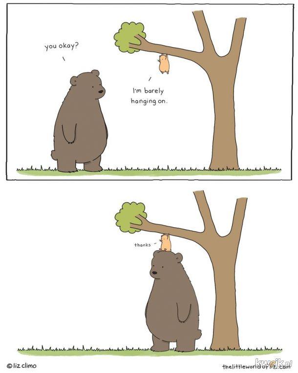 Przyjaciel zawsze pomoże