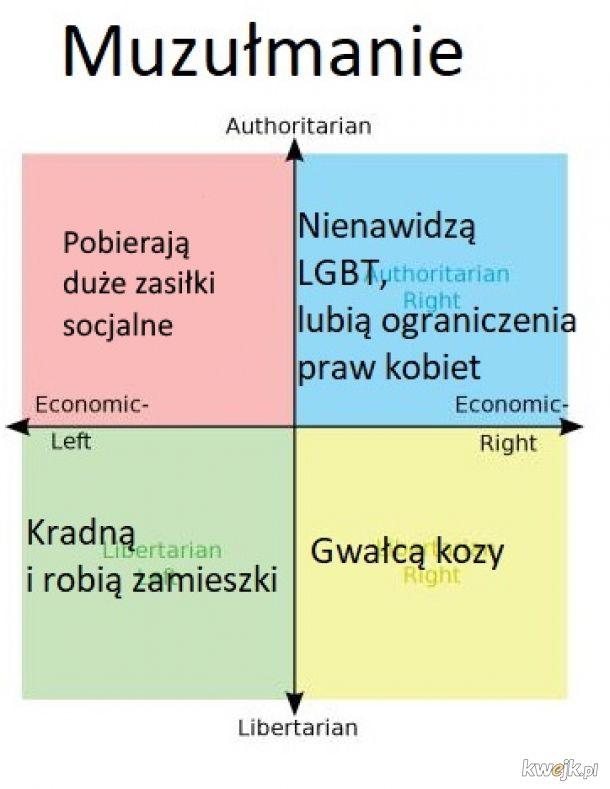 Całe spektrum polityczne
