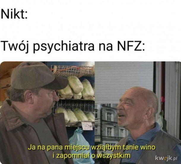 Psychiatra na NFZ