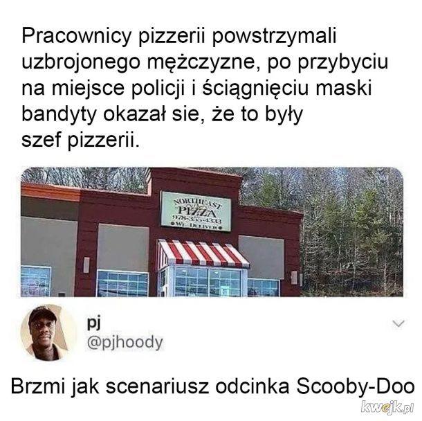 Akcja w pizzeri