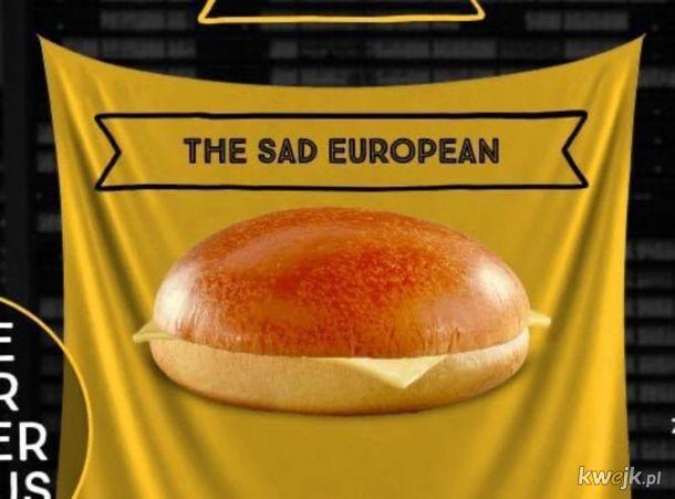 Smutny europejczyk.
