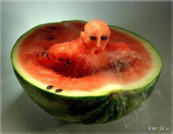 Teraz wiem dlaczego Amerykanie nazywają go Wodny melon.