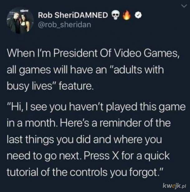 Przydałoby się nawet nie rodzicom.