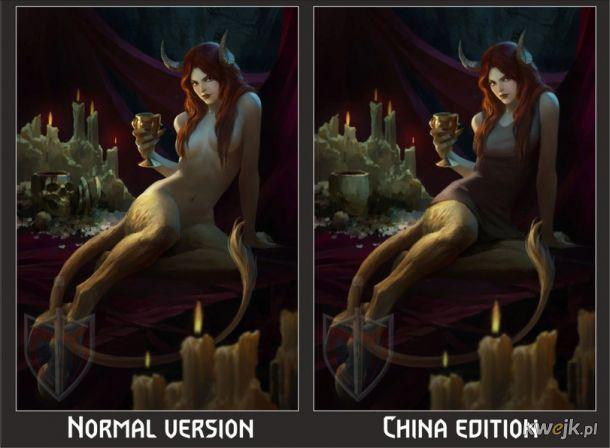 Jak w Chinach ocenzurowano karty do gry w Gwinta - Wiedźmińską grę karcianą, obrazek 14