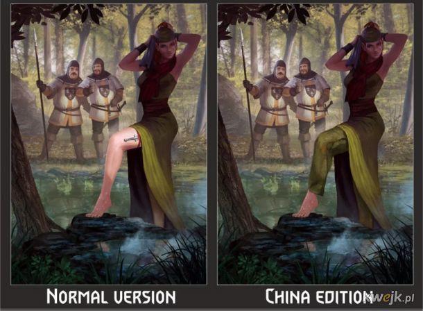 Jak w Chinach ocenzurowano karty do gry w Gwinta - Wiedźmińską grę karcianą, obrazek 5