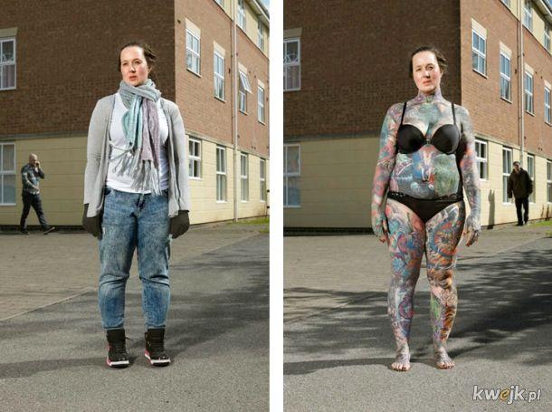 Co, z pozoru zwyczajni ludzie, skrywają pod ubraniami?