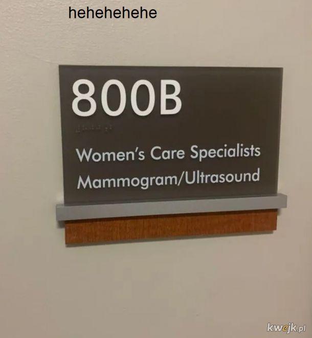 Lekarz od zdrowia piersi hehehe