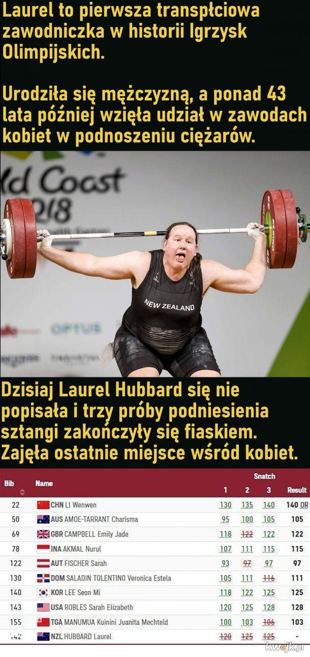 Transpłciowa zawodniczka Igrzysk Olimpijskich