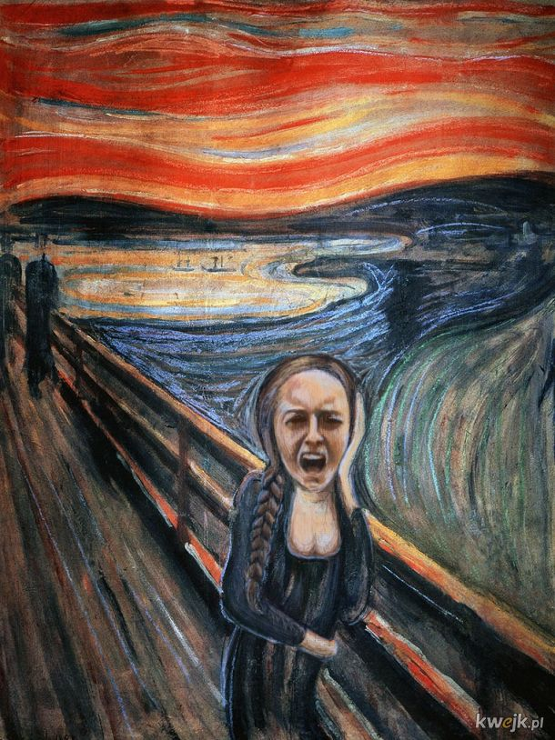 Jana Shostak + Edvard Munch