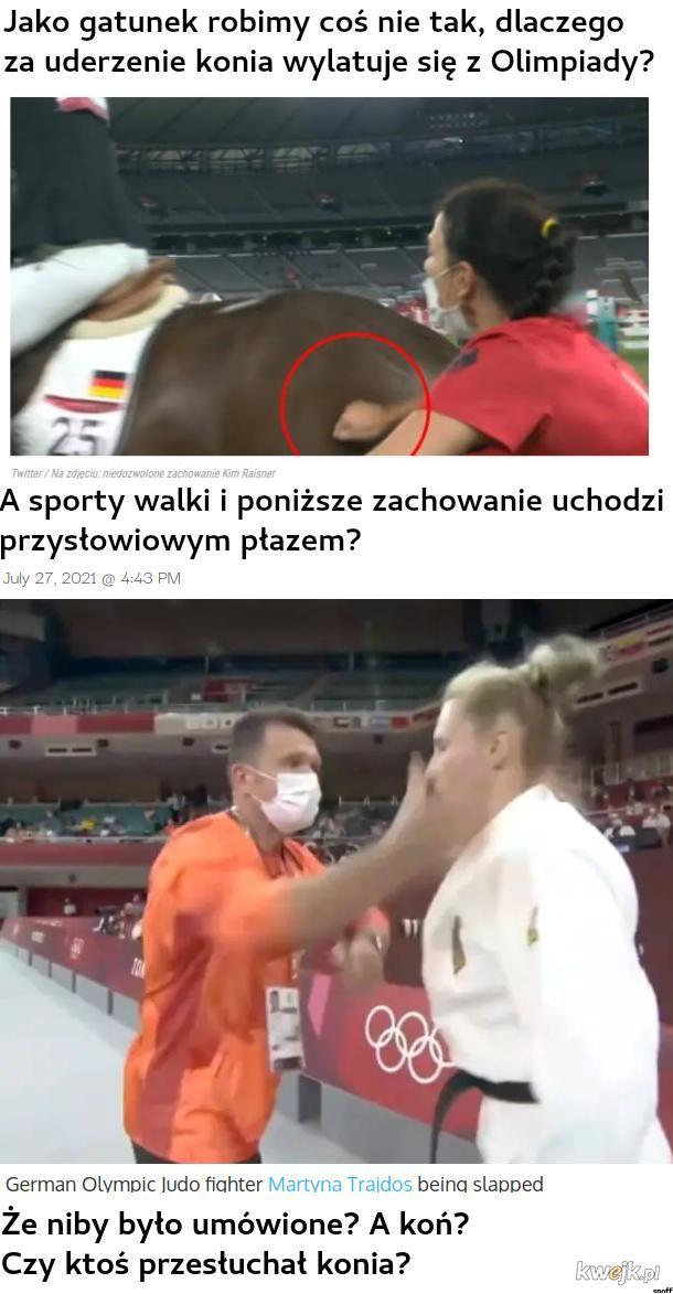 niemieckie bicie konia vs niemieckie bicie kobiet