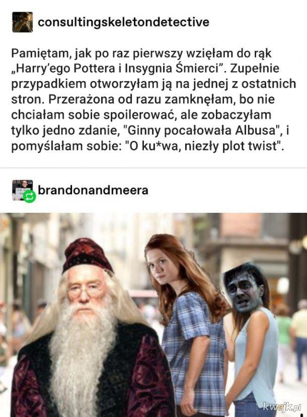 Śmieszki i memy z Harry'ego Pottera