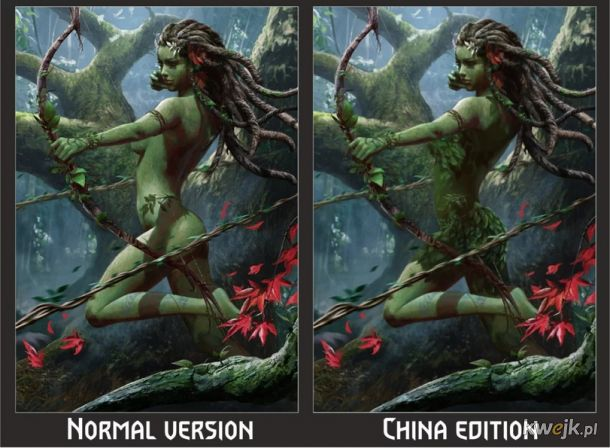 Jak w Chinach ocenzurowano karty do gry w Gwinta - Wiedźmińską grę karcianą, obrazek 7
