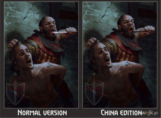 Jak w Chinach ocenzurowano karty do gry w Gwinta - Wiedźmińską grę karcianą, obrazek 19