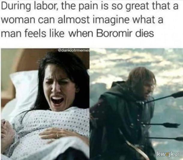 Porób boli prawie tak mocno jak oglądanie śmierci Boromira.