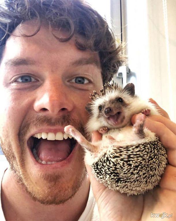 To Allan Dixon i z jakiegoś powodu każde zwierzę chce mieć z nim zdjęcie