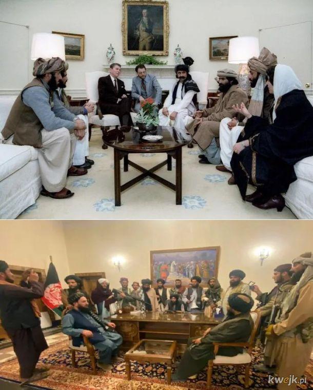 Reagan-Taliban. Poczatki krwawego romansu