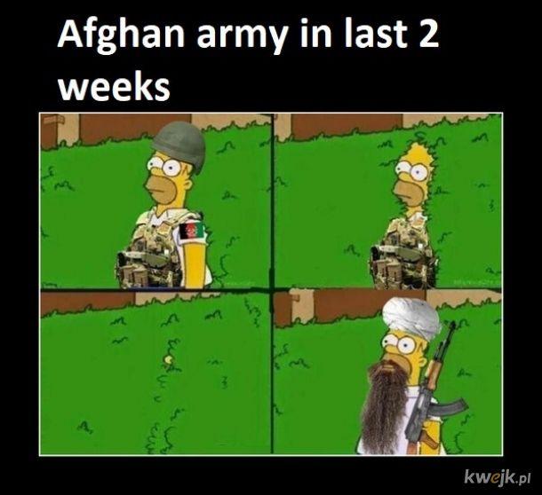Tymczasem w Afganistanie...