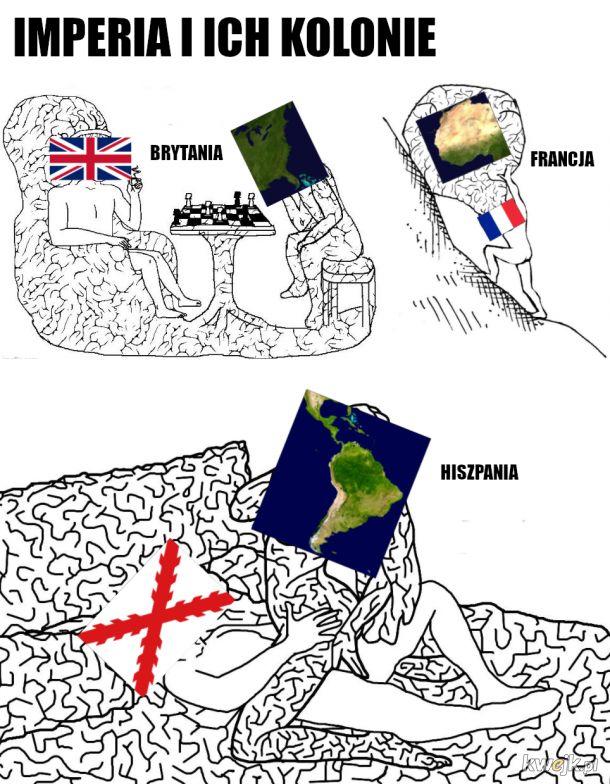 No powiedz ze tak nie było z Hiszpanami