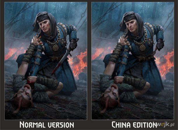 Jak w Chinach ocenzurowano karty do gry w Gwinta - Wiedźmińską grę karcianą, obrazek 12