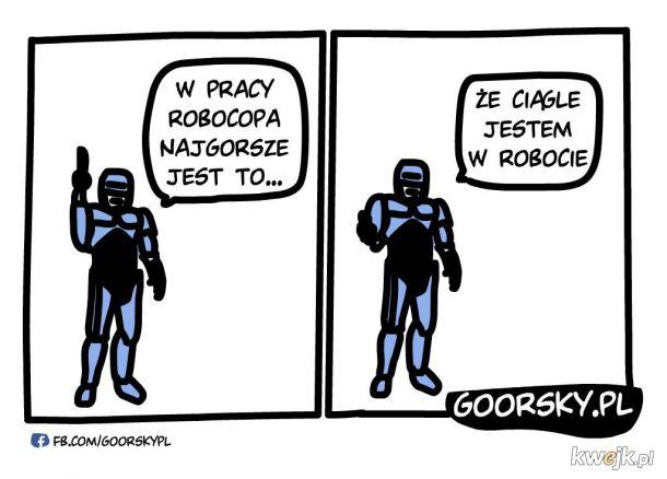 Chyba jestem Robocopem